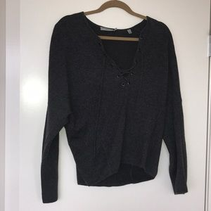 Grey Vince wool and cashmere sweater